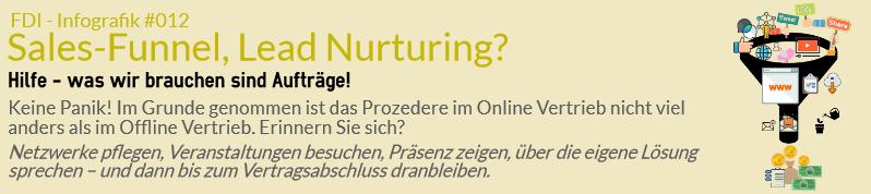 Sales Funnel, Lead Nurturing? Hilfe – was wir brauchen sind Aufträge!