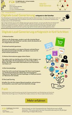 Fünf Punkte für digitale Lead Generierung