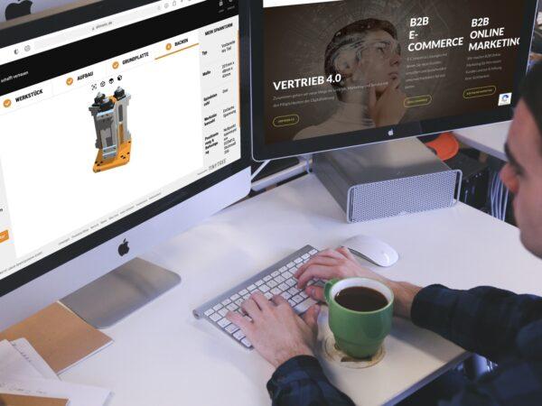 Ihre Vorteile eines B2B-Online-Shops mit integriertem Konfigurator und wie sie damit Prozesse beschleunigen!